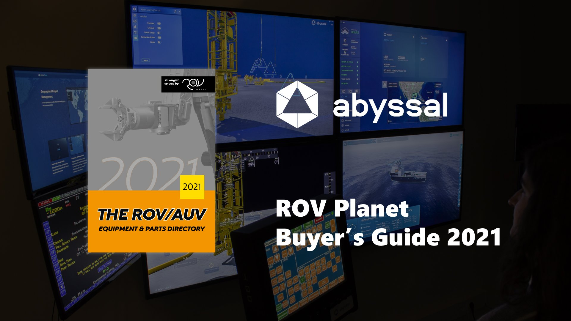 Abyssal featured in ROV Planet Buyers Guide 2021
